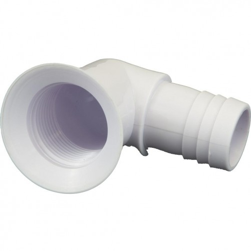 Moulded Caravan Drain Outlet